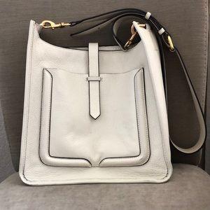 Rebecca Minkoff cream purse